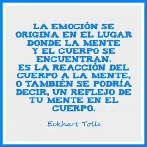 La emocion