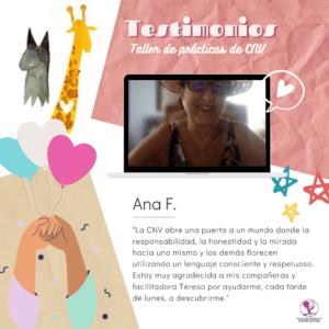 Ana F Testimonio practicas CNV