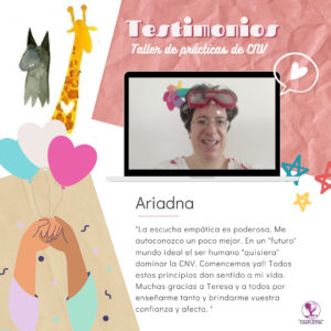 Ariadna Testimonio practica CNV